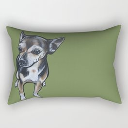 Artie the Chihuahua Rectangular Pillow