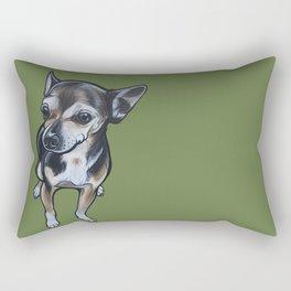 Artie the Chihuahua Rectangular Pillow