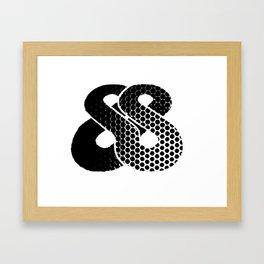 Rangutan 3D Logo Framed Art Print