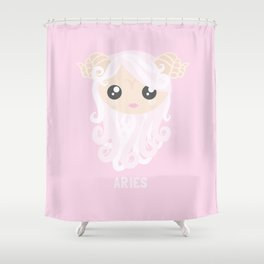 Aries Shower Curtain