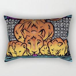Fierce Mother- The Lioness Rectangular Pillow