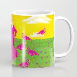 1997 Neon Rainbow Trash Queen Coffee Mug