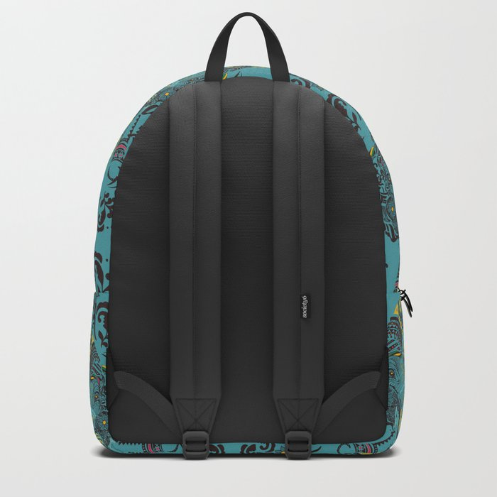 Anchor and Elephant Backpack