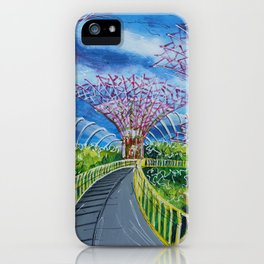 Super Supertrees iPhone Case