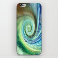 surf iPhone & iPod Skins featuring Surf by  Agostino Lo Coco