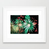 philippines Framed Art Prints featuring Fireworks - Philippines 7 by David Johnson