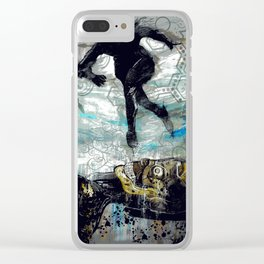 The Vector of Our Love Clear iPhone Case