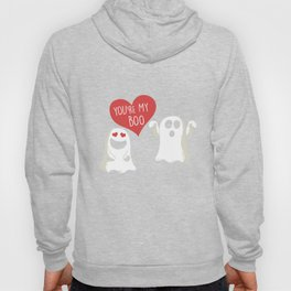 You're My Boo Halloween Scary Ghost Couple Spooky Hallows Eve Ghoul Gifts Hoody