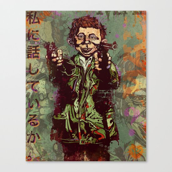 What Me Worry ? Canvas Print