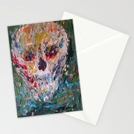 AWARE FOR EVER IN ITS MOTIONLESS DEPTHS Stationery Cards