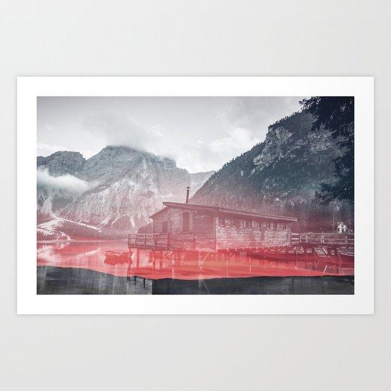 Rising Fog Art Print