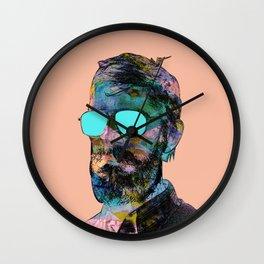Disco is dead Wall Clock
