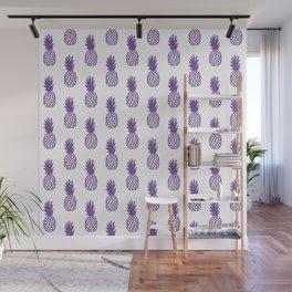 Purple Pineapple Wall Mural