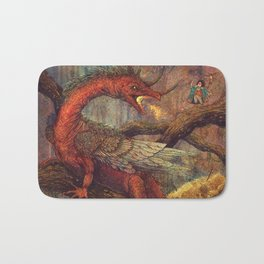 Dragons Lair Bath Mat