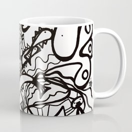 Nintey Nine Lives (BW) Coffee Mug