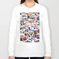1d Long Sleeve T-shirts featuring POLAROID ONE DIRECTION 1D by BESTIPHONE5CASESHOP