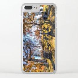 Sleepy Hollow Cemetery New York Clear iPhone Case