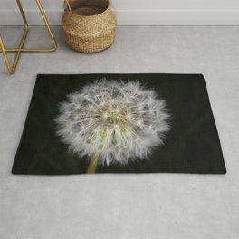Dandelion seed ball Rug