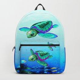 Sea Turtles Dance Backpack