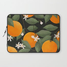 fresh citrus // dark Laptop Sleeve