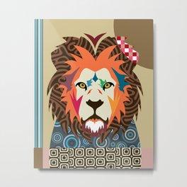 Cecil The Lion Metal Print