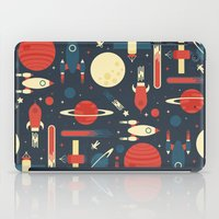 stickers iPad Cases featuring Space Odyssey by Tracie Andrews