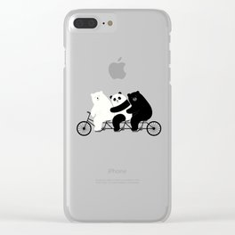 Family Time Clear iPhone Case