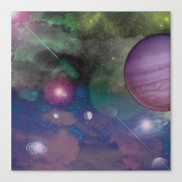 Galatica Canvas Print