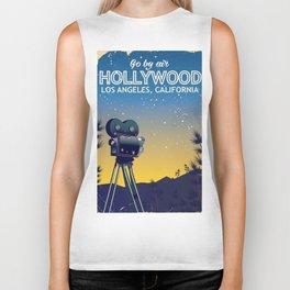 Hollywood, Los Angeles,California travel poster Biker Tank