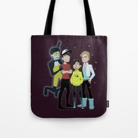 youtube Tote Bags featuring Youtube Falls by bowtiewizard