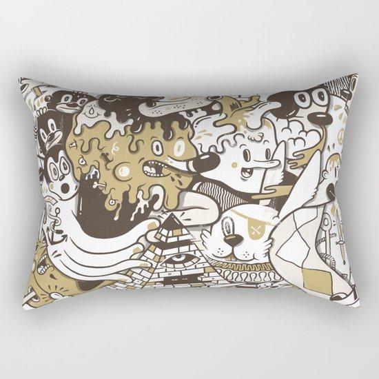 con$umer Rectangular Pillow