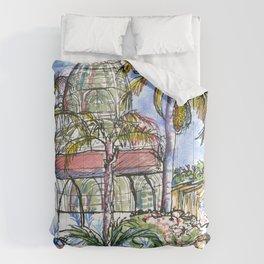 Botanical Garden Curitiba Brazil Comforters