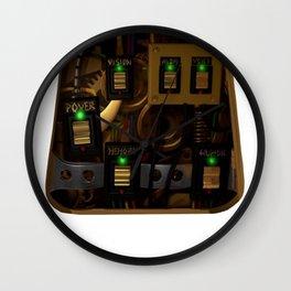 Zane's Chest Plate Wall Clock