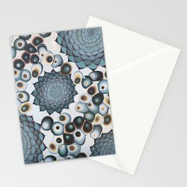 Ombre Succulents Stationery Cards