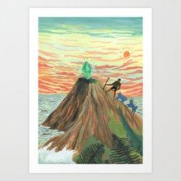 Goat Sacrifice Art Print