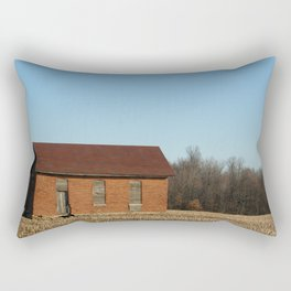 Little Lafayette Shed Rectangular Pillow