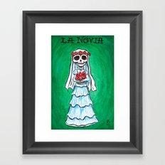 La Novia Framed Art Print