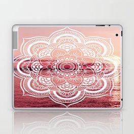 Mandala Water : Rose Pink Laptop & iPad Skin