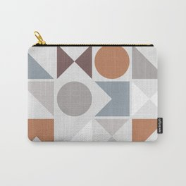 Mid Century Modern Geometric 19 Carry-All Pouch