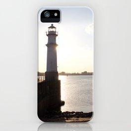 Leith Lighthouse Edinburgh iPhone Case
