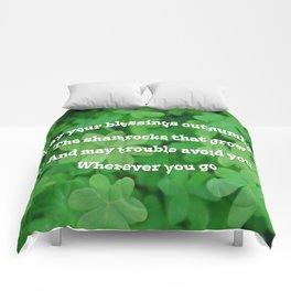 Irish Blessing Comforters