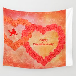 Who Loves You Wall Tapestry