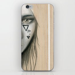 Beach Tribe Two - Gypsy Soul Searching Woman iPhone Skin