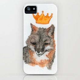 Foxy King iPhone Case