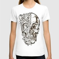 skeleton T-shirts featuring Skeleton by ViviRajski