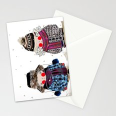 Rosy cheeks and frozen toes Stationery Cards