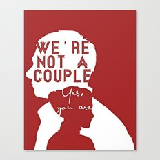 Not a couple Canvas Print