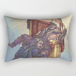 King Ratonhnhaké:ton (bright) Rectangular Pillow