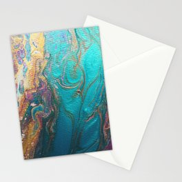 Psychedelic Marble Stationery Cards