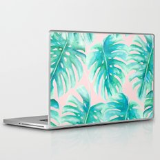 Paradise Palms Blush Laptop & iPad Skin
